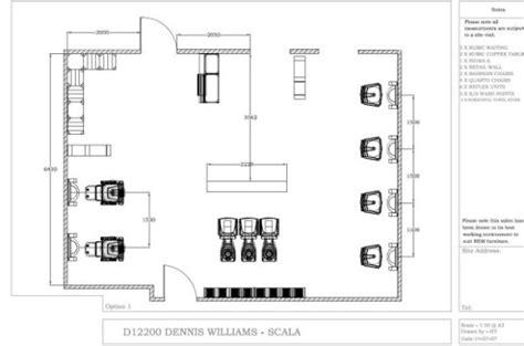 hair salon layout cad dennis williams hair beauty salon planning and fitting