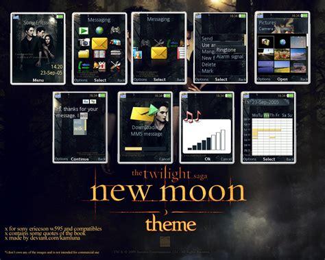 themes in new moon new moon theme by kamluna on deviantart