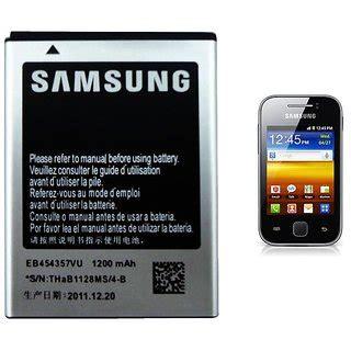 Samsung Battery Eb454357vu Original For Galaxy 100 original samsung eb454357vu battery for galaxy y s5360 s5380 i509 1200mah buy 100 original