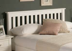 wood bed headboards shaker white wooden bed frame lfe painted wood wooden