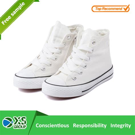 high top white canvas shoes no brand buy white