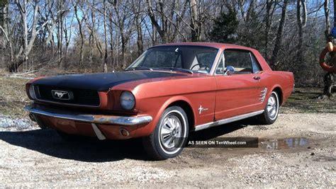 mustang barn 1966 mustang barn find pony interior 6 cylinder