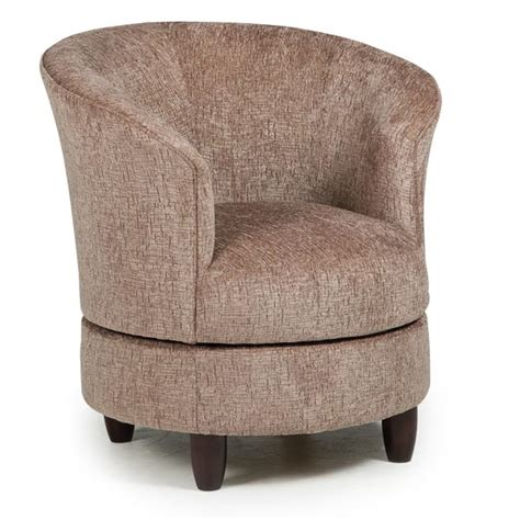 Chairs Swivel Barrel Dysis Best Home Furnishings Barrel Chairs That Swivel