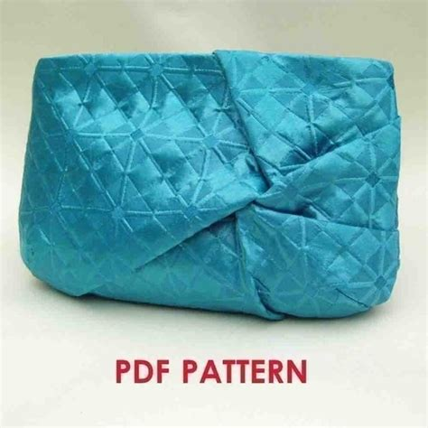 clutch purse templates clutch purse pdf sewing pattern twist detail