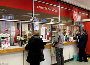 post office to more branches to high