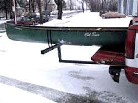 jon boat in truck bed castlecraft extension bed rack for pickup trucks