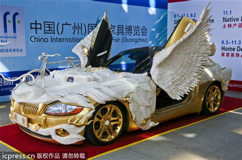 real gold cars real luxury car china chinadaily com cn
