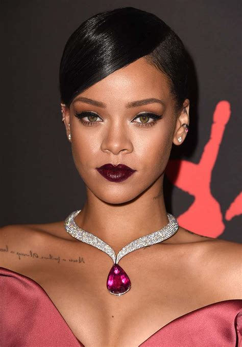 rihanna steps out in chopard high jewellery and looks