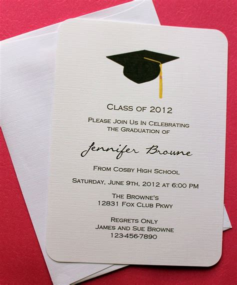 exciting high school graduation party invitations to design free