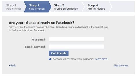 Email Search For Friends Social Media Setting Up A Account