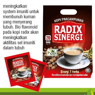 Kopi Radix Sinergi 7 Herba Pilihan Kopi Radix Pak Haji Hpa uncategorized klinik rumah sehat raudhah padang