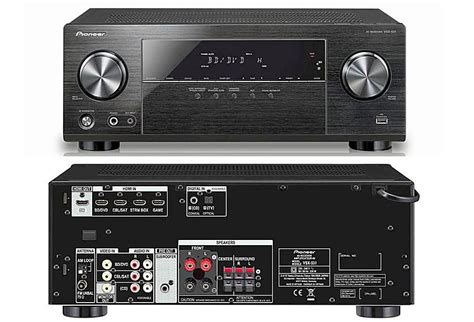 Home Theater G8 the pioneer vsx 531 5 1 channel home theater receiver profiled