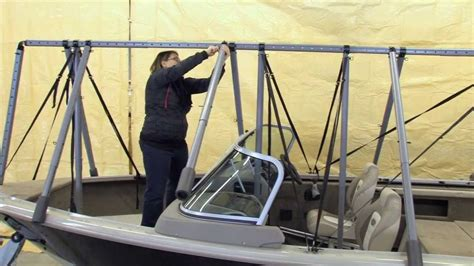 boat r up navigloo fishing boat runabout set up youtube