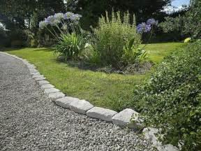 Rock Edging For Gardens William Inexpensive Ideas For Landscape Edging