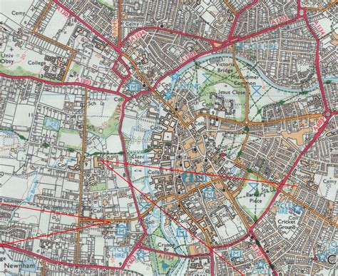map uk cambridge college map cambridge colleges