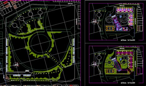 town  children  dwg design block  autocad