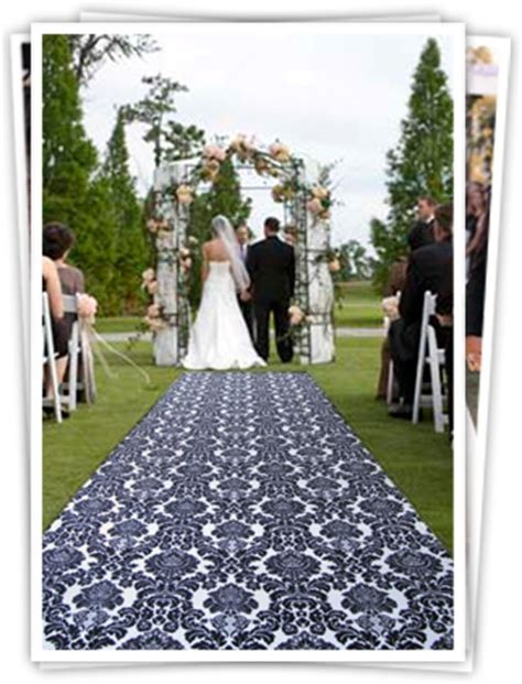 Navy Wedding Aisle Runner by Which Patterned Aisle Runner For Our Nautical Wedding