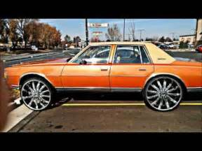 for sale box chevy caprice donk on 28 s