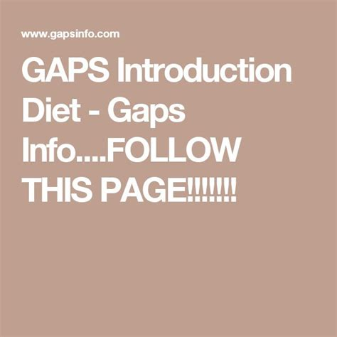 Gaps Diet Detox Symptoms by 38 Best Images About Ibs On The Gap