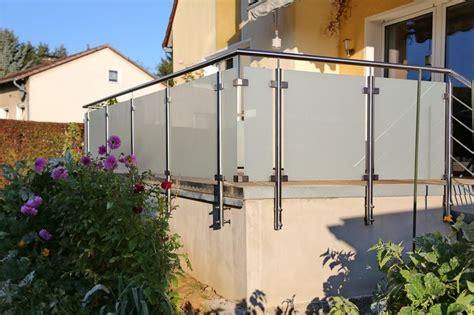 Terrassengeländer Edelstahl by Terrassengel 228 Nder Aus Edelstahl Und Sicherheitsglas