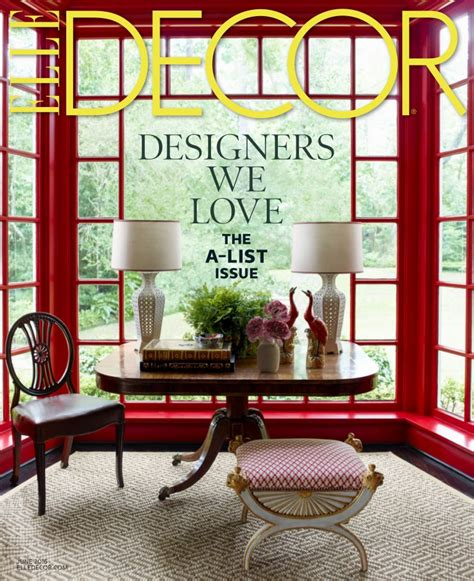 decor magazine christopher spitzmiller inc press