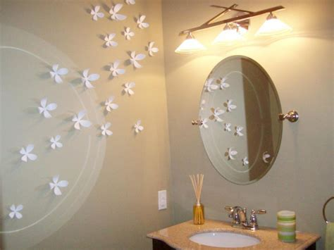 Paint Faux Stone Wall - make a statement in your powder room bathroom ideas amp designs hgtv