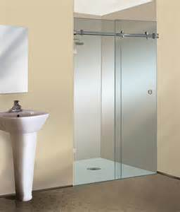 crl s new serenity sliding frameless shower door appears
