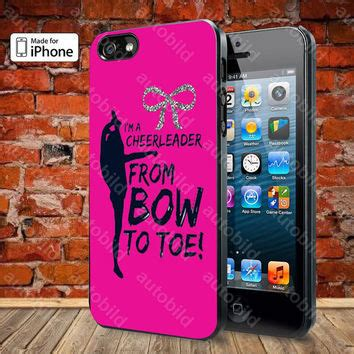 bow to toe cheer for iphone 5 5s from autobild on etsy