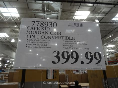 cafe kid desk costco cafe kid convertible 4 in 1 crib
