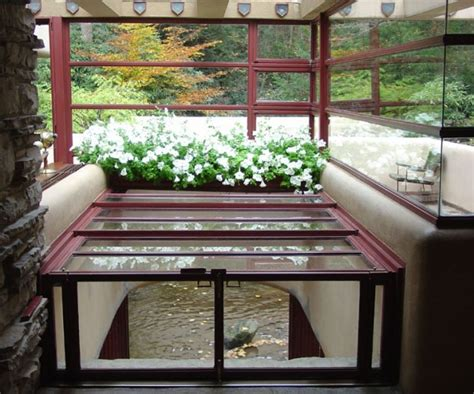 fallingwater house interior fallingwater by frank lloyd wright interior design design news and architecture