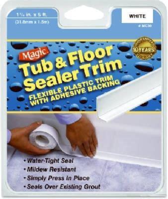magic bathtub sealer trim magic tub floor sealer trim white jet com