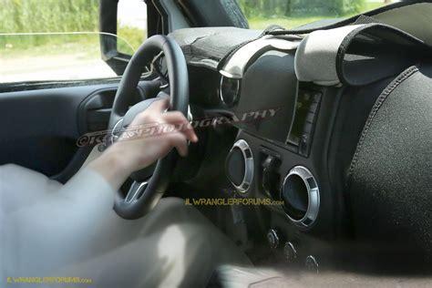 2018 jeep wrangler jl interior 2018 jeep wrangler jl 2 door spied zf 8 speed auto and