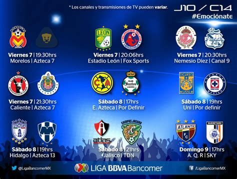 Calendã I Liga 2014 Liga Mx 2016 Tabla De Descenso Calendar Template 2016