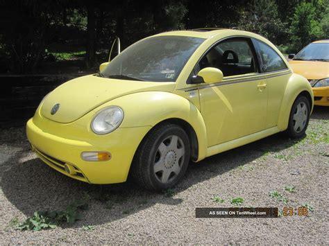 Volkswagen Beetle 2001 by 2001 Volkswagen Beetle Gls Hatchback 2 Door 2 0l