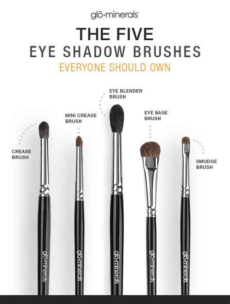 Eyeshadow Brush 5 essential eyeshadow brushes eye makeup tips glo