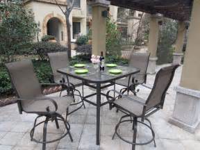 patio furniture bar sets outdoor patio sets d amp s furniture