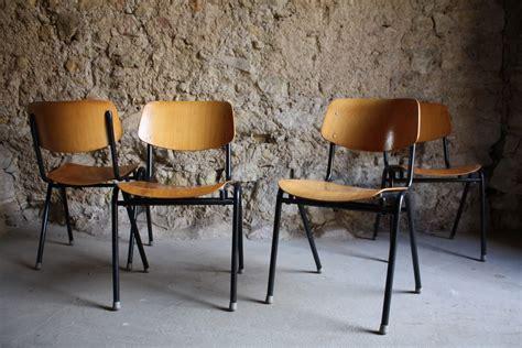stuhl gebraucht industrie industrial design st 252 hle schul stuhl gebraucht