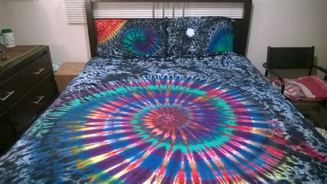 tie dye bed set tie dye bed sheet set custom made one of a kind