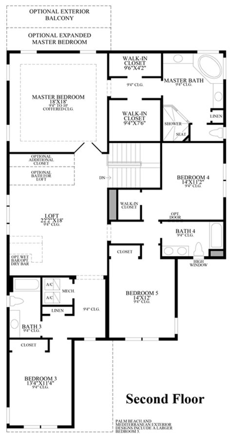 the lakeshore floor plan lakeshore executive collection the madeira fl home