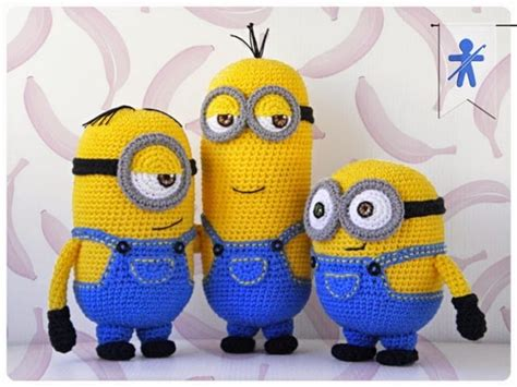 pattern crochet minion minion free crochet pattern collection all the best ideas
