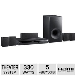 samsung hte350 home theater system 5 1 channel 330w