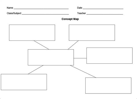Concept Map Template Free Premium Templates Concept Map Template