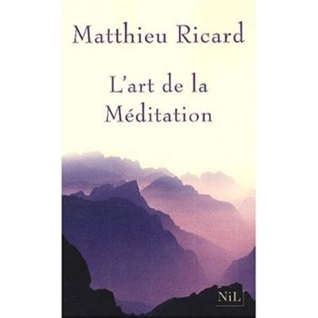 L Art De La M 233 Ditation