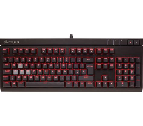 Keyboard Corsair corsair strafe mechanical gaming keyboard deals pc world