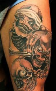 25 graceful scary tattoos