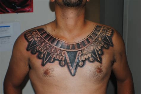 egyptian chest tattoos arm photo sleeve tattoos chest design idea for