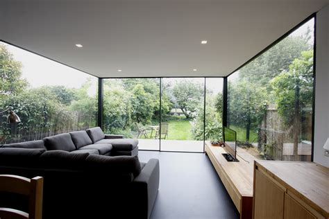 minimal windows  house extensions slim frame sliding glass doors minimal windows
