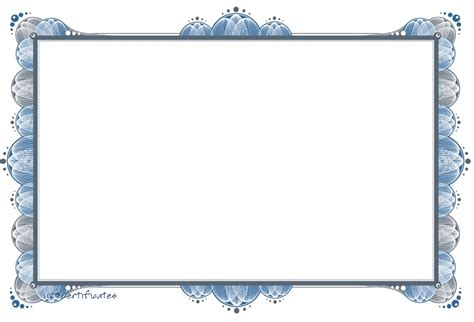 Free Printable Certificate Border Templates free certificate borders to certificate templates for powerpoint certificate borders