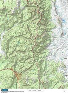map of continental divide in colorado climbing topo maps