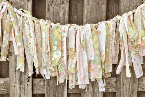 diy wedding garland ideas diy wedding ideas torn fabric garland